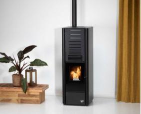 Een pelletkachel is een duurzame hout gestookte verwarmingsbron