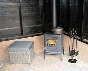 Een Globe Fire Kachel is een houtkachel gemaakt van kwalitatief hoogwaardig gietijzer