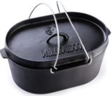 Dutch Oven 9L Ovaal Valhal Outdoor